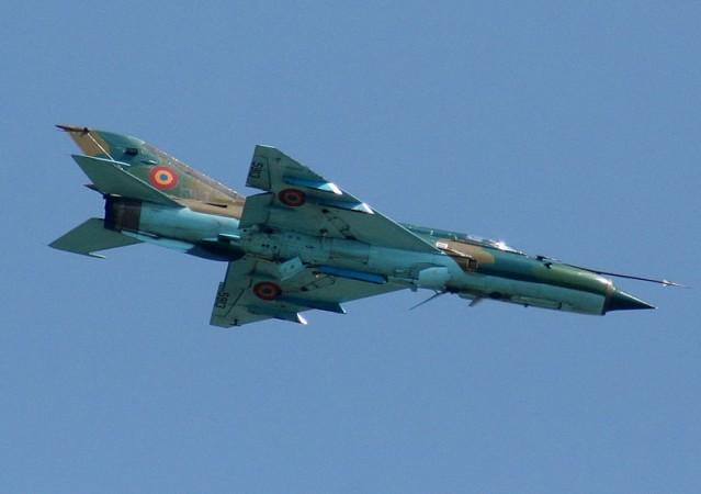 Jet fighter plane, MiG-21