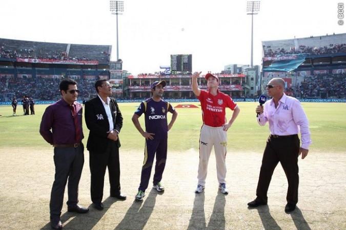 George Bailey Gautam Gambhir KKR Kings XI Punjab
