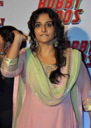 Vidya Balan at the Trailer lauch of film 'Bobby Jasoos' at an event in PVR, Juhu, Mumbai