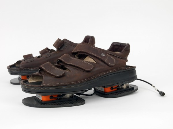 NASA will fly the ForceShoe, developed by XSENS, to the International Space Station in May 2014. The ForceShoe engineering evaluation will help validate the use of portable load monitoring devices in space. (NASA)