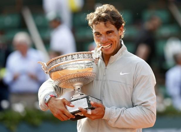 Rafael Nadal French Open title