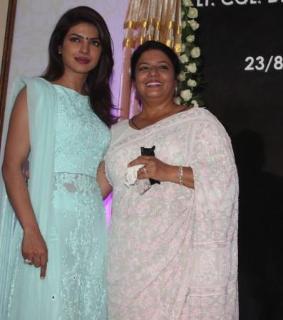 Priyanka Chopra and her mother Madhu Chopra