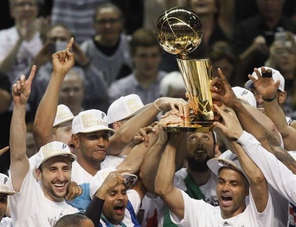San Antonio Spurs title