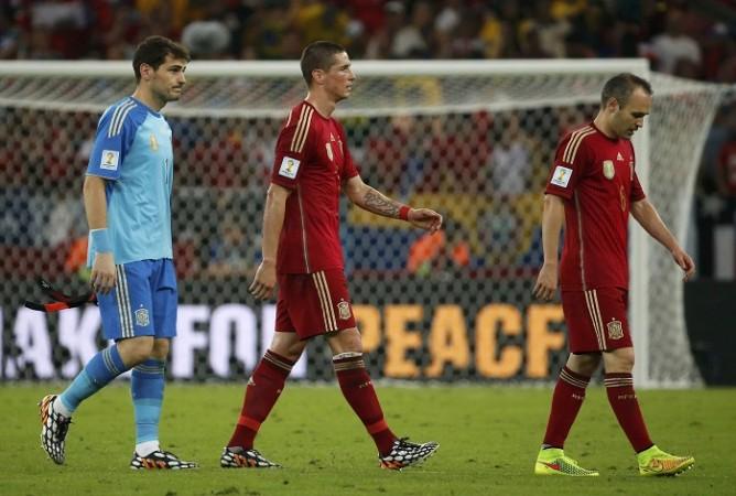 Casillas Torres Iniesta Spain