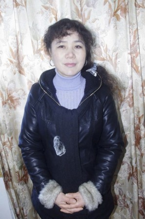An undated photo shows Chinese activist Liu Ping posing for a photograph in Xinyu