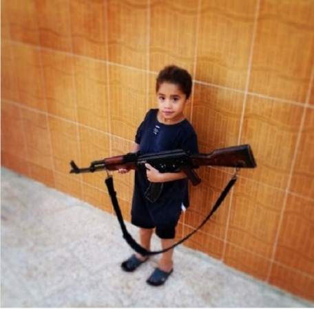 ISIS is training children