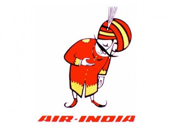 Air India carrier's logo 'Maharaja'