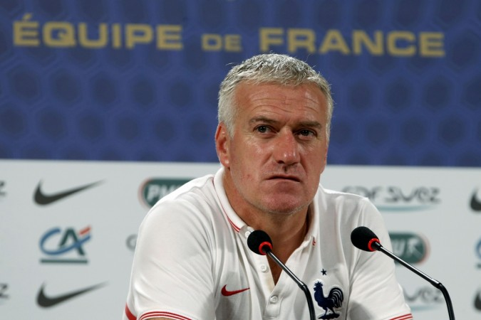 France head coach Didier Deschamps