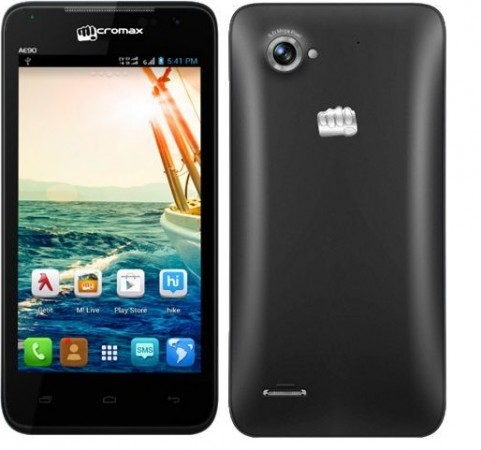 Micromax Canvas Duet AE90 Spotted Online; Price, Availability Details