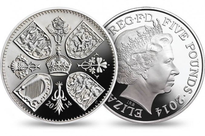 UK's Royal Mint has issued a limited edition coin to mark the first birthday of Prince George.