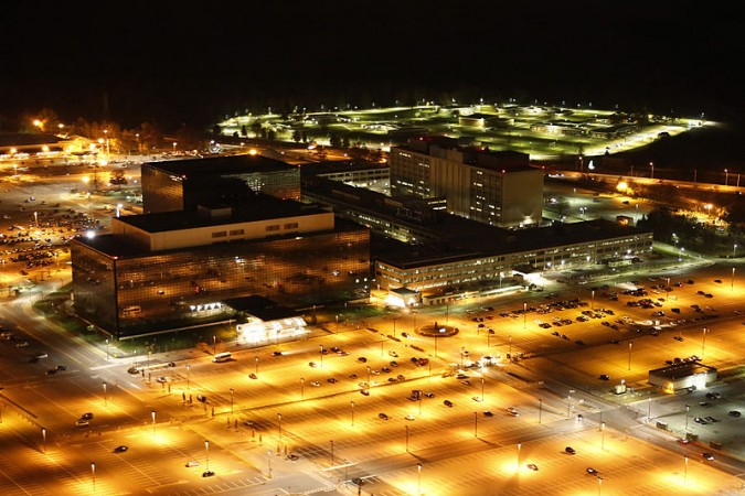 NSA Headquarters at Fort Meade, Maryland, USA