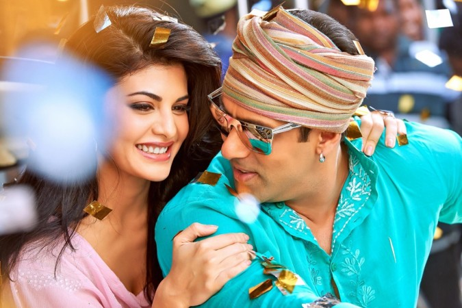 Jacqueline Fernandez and Salman Khan in