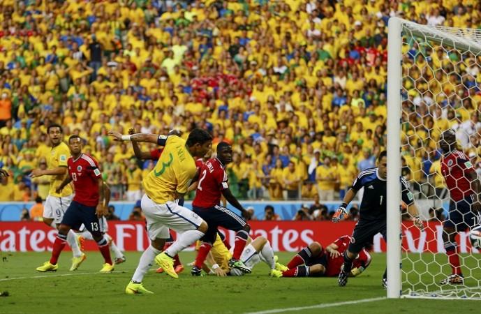 Thiago Silva Brazil Colombia