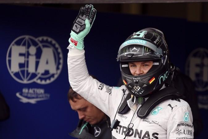 Nico Rosberg Silverstone