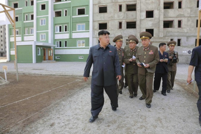 People have been surprised by the way the state television showed the images of Kim walking with a slight, but clearly visible limp