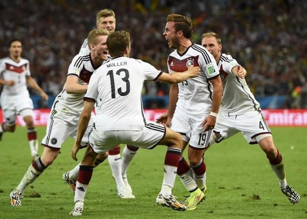 Mario Gotze Germany World Cup final