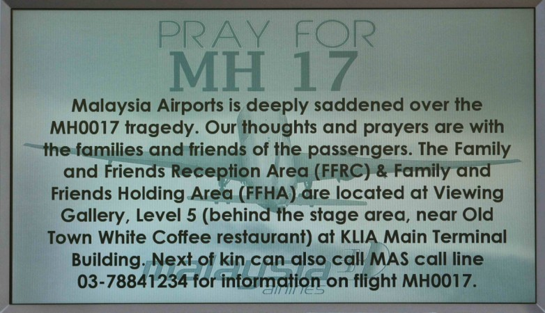 An Air India flight AI 113 seemed to have narrowly missed the fate of Malaysian Airlines MH17 as it was flying only 25 kms away when MH17 exploded.