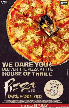 """""""Pizza 3D"""" poster"""