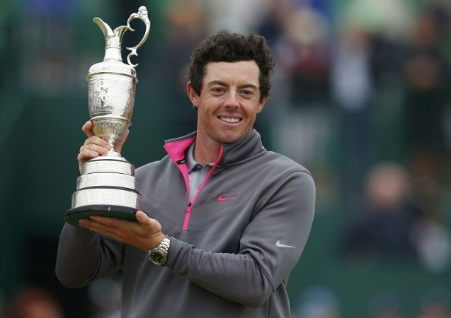 Rory McIlroy British Open