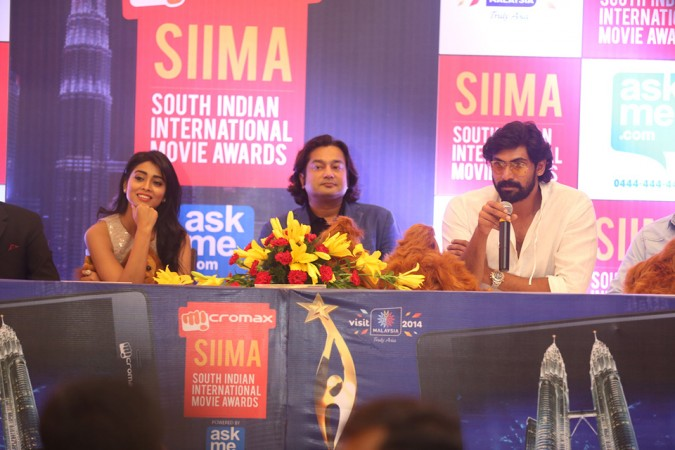 MICROMAX SIIMA - 2014 ANNOUNCED BY SHRIYA AND RANA