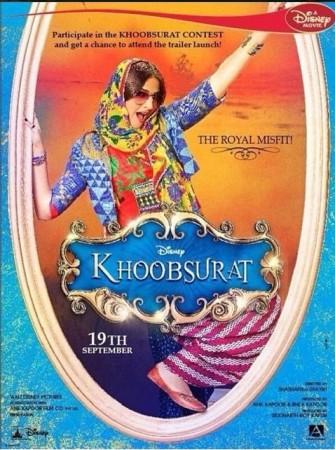 """Khoobsurat"" movie poster"