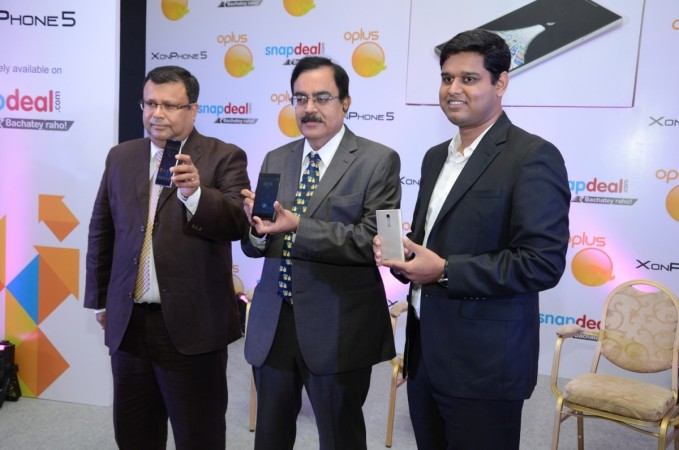 Oplus XonPhone 5 with Quad-core CPU Launched in India