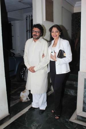 Sanjay Leela Bhansali with Simi Garewal