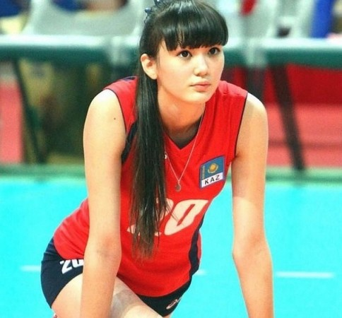 A teenage volleyball player from Kazakhstan Sabina Altynbekova has come under scrutiny for being too beautiful.