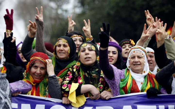 Women Laughing in Pubic is Immoral,Turkish Deputy Prime Minister