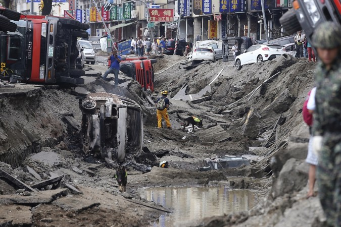 At least 24 people were killed and some 271 others injured as powerful underground gas explosions rocked Taiwan's Kaohsiung city.