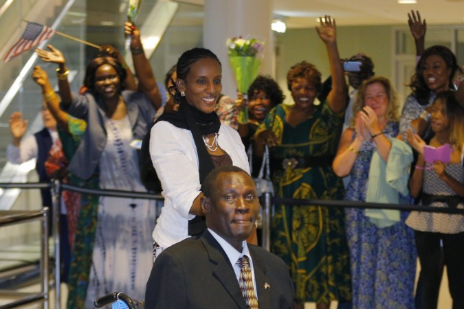 A Sudanese woman, Meriam Ibrahim who refused to renounce her Christian faith and was sentenced to death, has arrived in the United States.