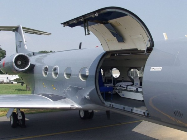 Special Jet to fly in American Ebola Patients