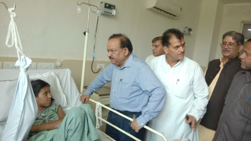 Harsh Vardhan in AIIMS Rishikesh