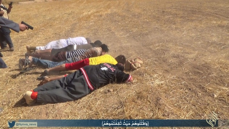 ISIS executions in Sinjar