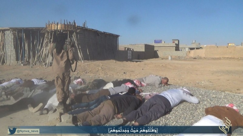 ISIS executing residents in Sinjar