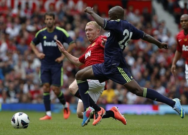 Paul Scholes Manchester United Legends Claude Makelele Real Madrid Legends