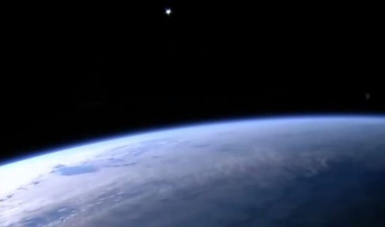 UFO Sighting: NASA's Live HD Cam Captures Alien-Like Object in Space