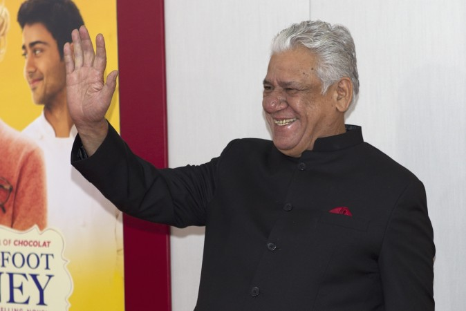 Actor Om Puri arrives for the world premiere of 'The Hundred-Foot Journey' in New York