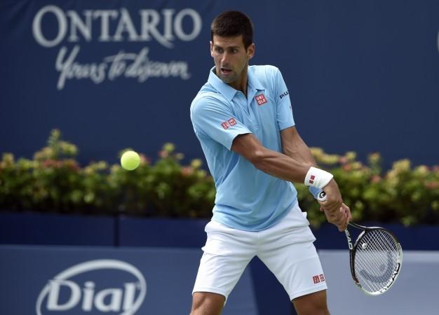 Novak Djokovic Backhand