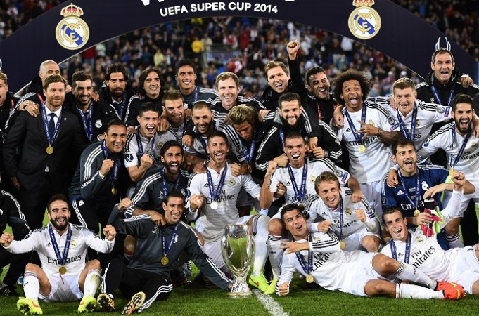 Real Madrid UEFA Super Cup