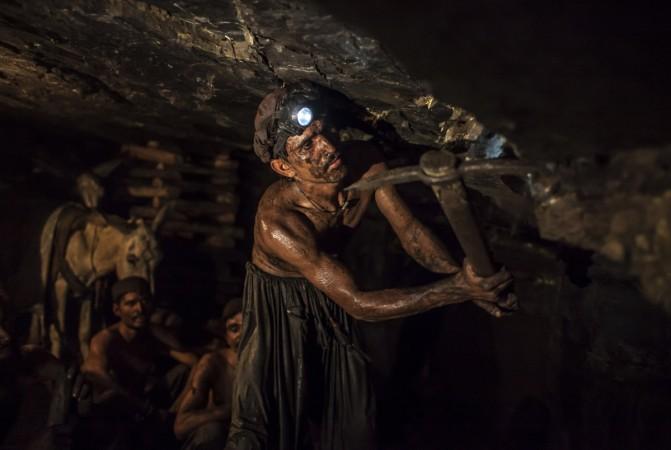 Coal Miner in India
