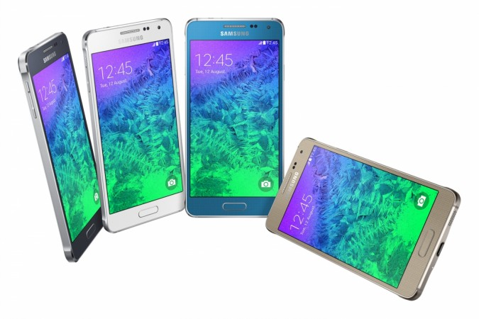 Samsung Galaxy Alpha with Metal Frame Unveiled; Set to Hit Stores in September
