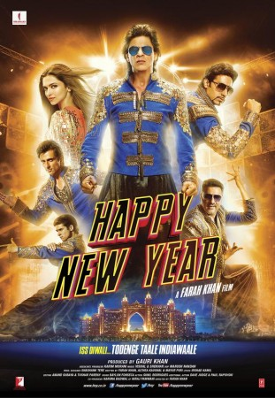 """""""Happy New Year"""" Film Poster"""
