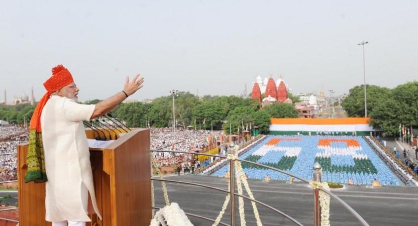 Prime Minister Narendra Modi's speech at Red Fort