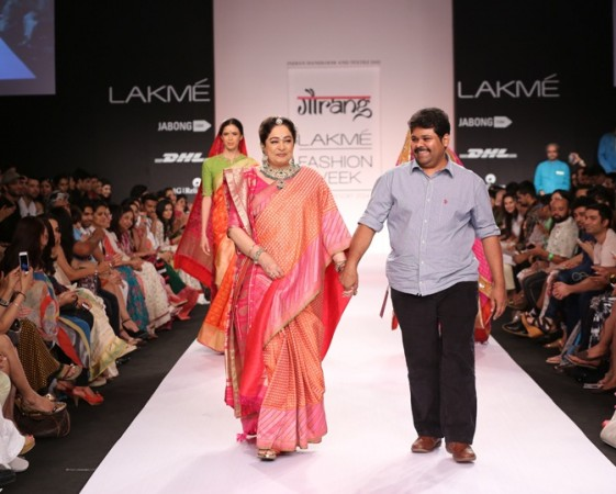 Gaurang with actress Kiran Kher