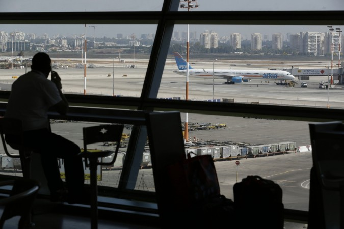 Hamas threats loomed large with the militants saying the Ben Gurion airport was supposed to be the