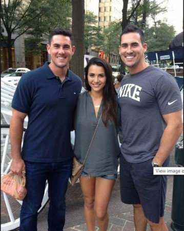Andi Dorfman, Josh Murray and Aaron Murray