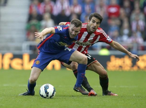 Tom Cleverley Manchester United Jordi Gomez Sunderland