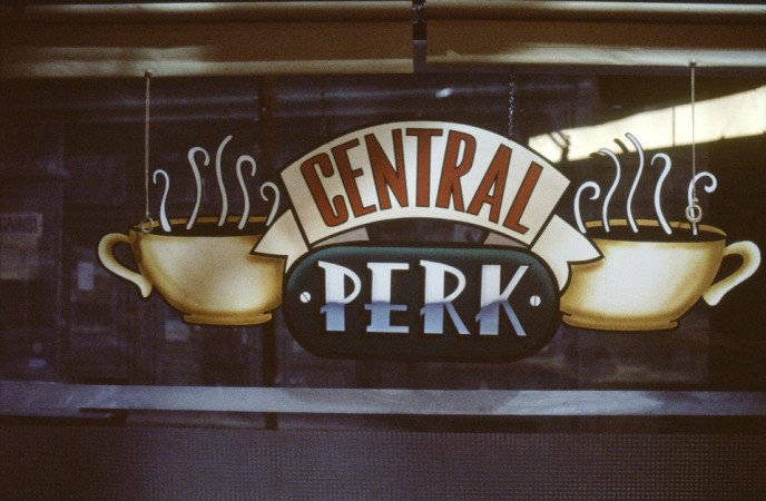 Central Perk, the coffee shop from the Friends TV show