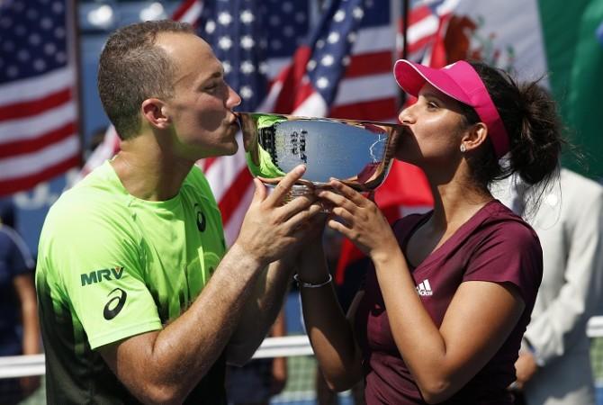 Bruno Soarez Sania Mirza US Open